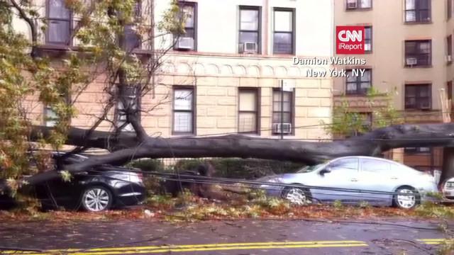 iReporters share Sandy's impact