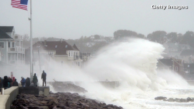 Superstorm Sandy cripples the East Coast