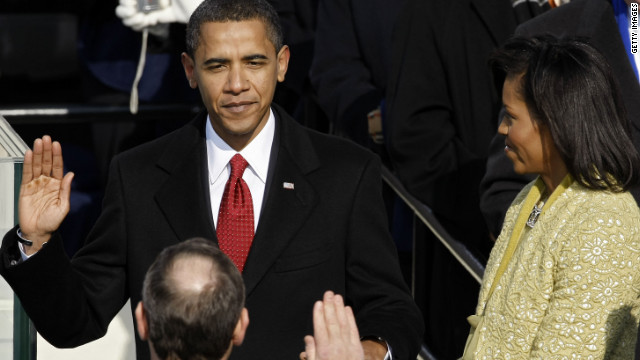 2008: Obama inauguration makes history