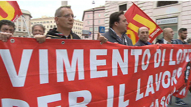 Unemployment woes continue in Italy