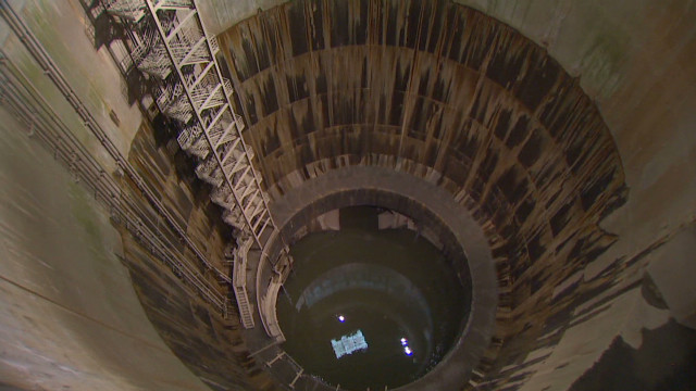 Giant tunnels protect Tokyo from floods