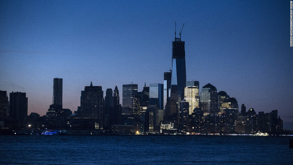 Parts of lower Manhattan are still without electricity on Thursday. Superstorm Sandy, which made landfall along the New Jersey shore on Monday, October 29, left much of the Eastern Seaboard without power, including much of Manhattan south of 34th Street.