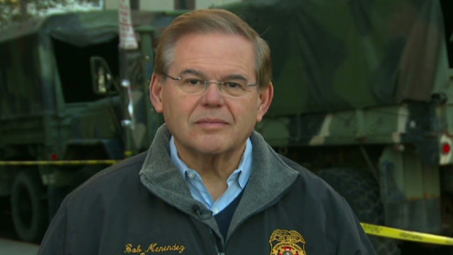 Menendez: No politics in Obama visit