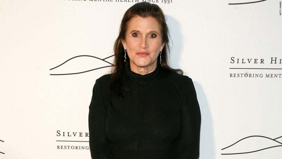 "In addition to appearing in films like 1989's ""When Harry Met Sally..."" and lending her voice to ""Family Guy,"" Carrie Fisher has established herself as a writer with ""Postcards from the Edge"" and ""Wishful Drinking."""