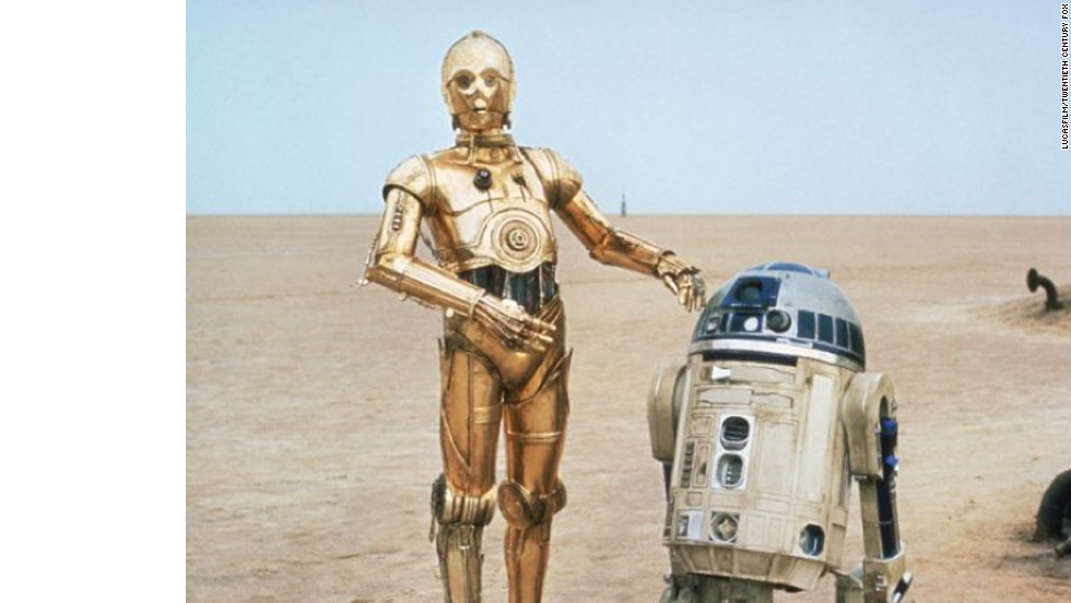 R2-D2 is a faithful companion of Luke's. He assists him in many ways, including the piloting of Luke's X-Wing fighter.