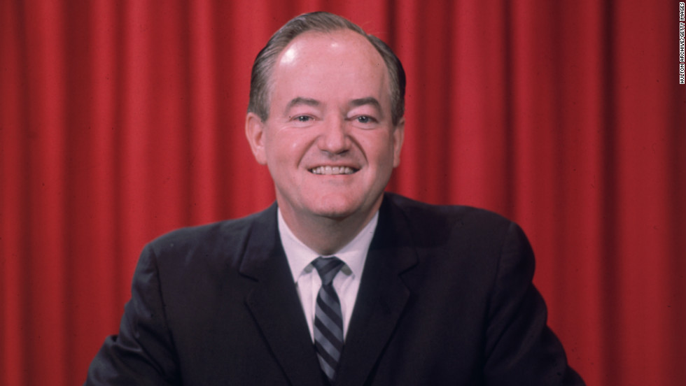 Then-Vice President Hubert Humphrey lost his birth state of South Dakota in a losing campaign against Republican nominee Richard Nixon in 1968. Humphrey won both his home state of Minnesota and Nixon's home state of New York.
