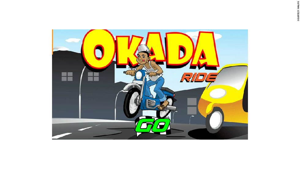 Okada Ride is a game by Nigerian developer Maliyo. The aim of the game is to drive through the busy Lagos traffic, without crashing.