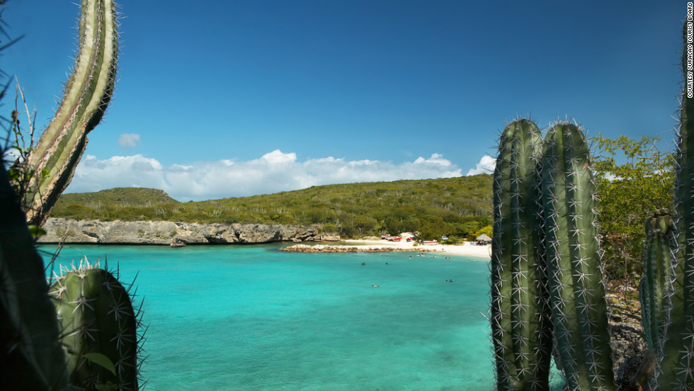 Escape to Curacao for an island vibe mixed with a taste of the Netherlands.