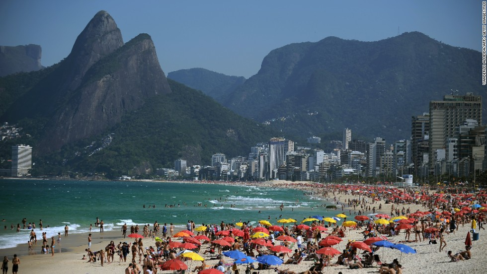 After a day on the sand in Rio de Janeiro, go ahead and sip a caipirinha or two.