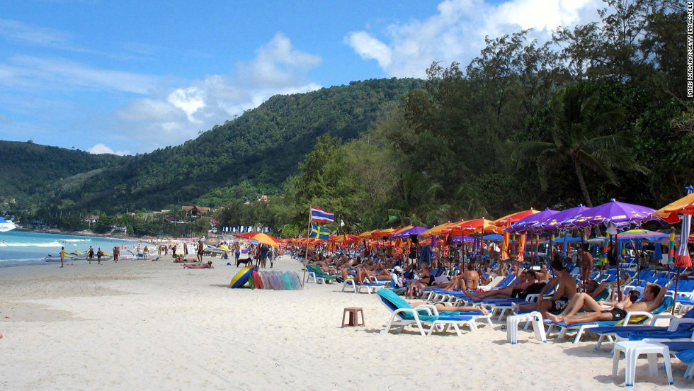 The beaches of Phuket, Thailand, offer a laid-back vibe far from the U.S. election buzz.