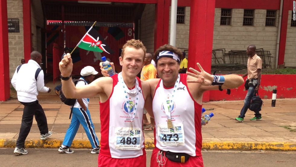 Chataway then ventured into Africa to participate in the Nairobi Marathon in Kenya on October 28.