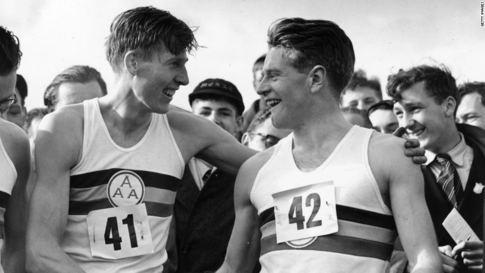 Chataway comes from good running stock. His father Chris (right) is a former 5,000 meters world record-holder and he was a pacemaker for fellow Briton Roger Bannister when he ran the first sub-four minute mile in 1954.