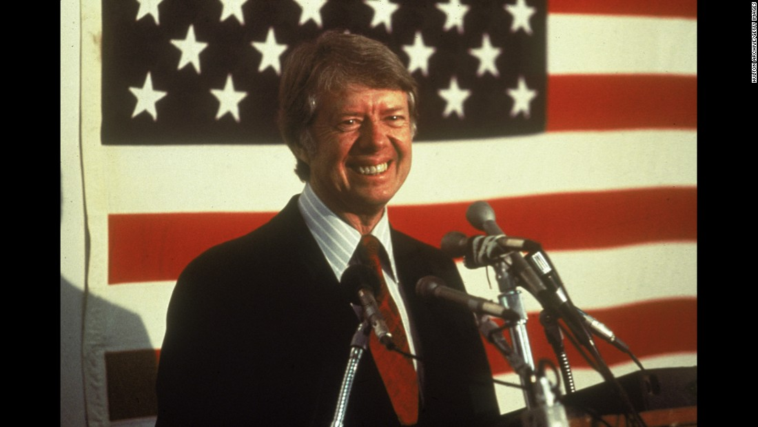 Jimmy Carter, the 39th president (1977-1981)<br />
