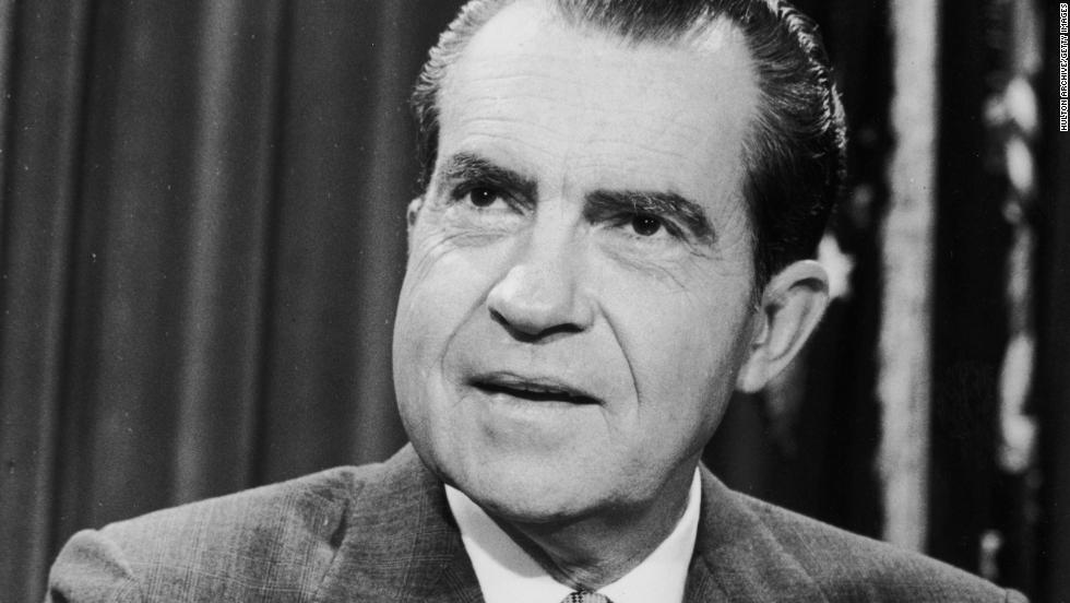 Richard M. Nixon, the 37th president (1969-1974)