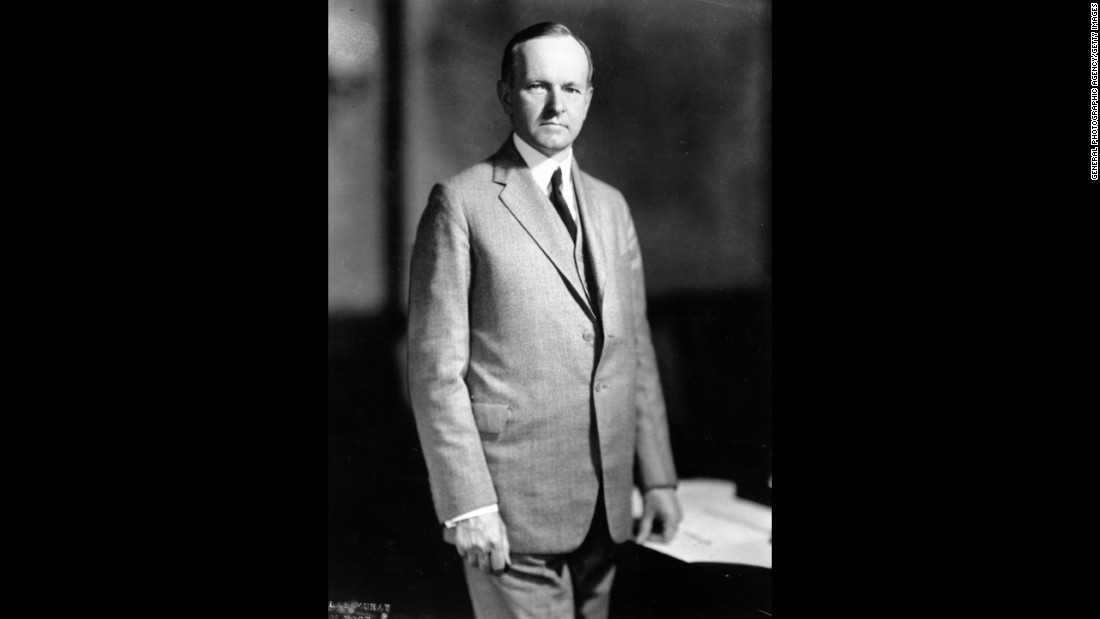 Calvin Coolidge, the 30th president (1923-1929)<br />