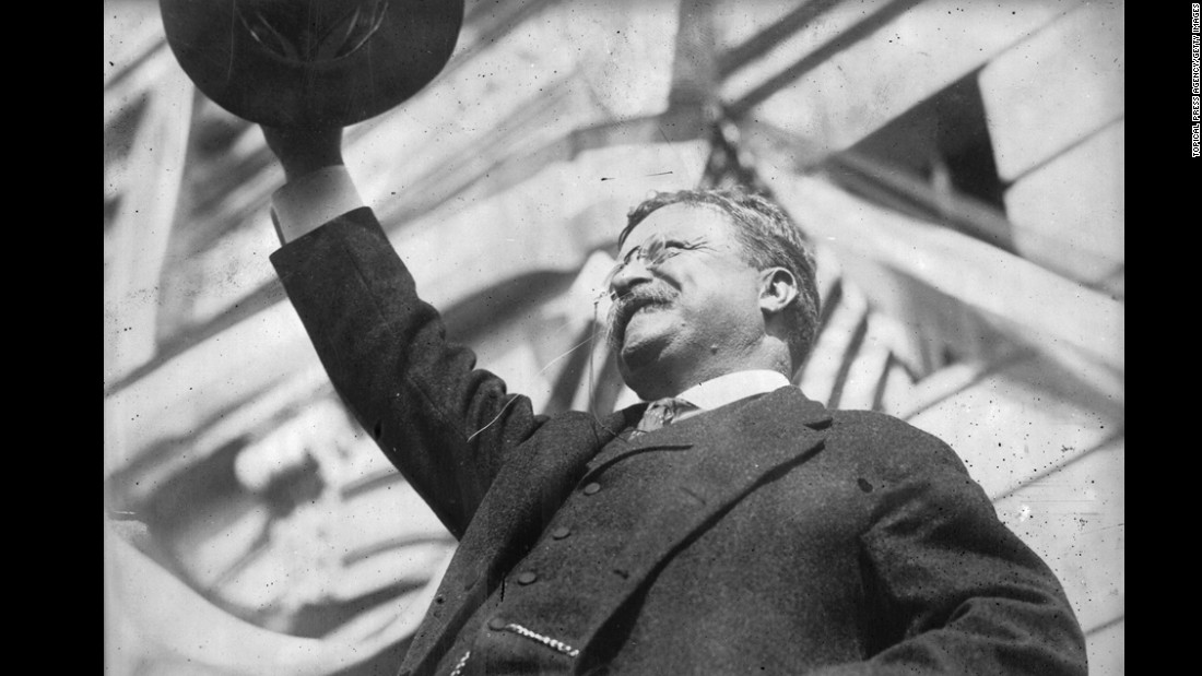 At 42, Theodore Roosevelt (1901-1909) was the youngest man to take the oath of office. A progressive reformer and environmental advocate, Roosevelt brought lawsuits against corporate trusts, taking on business giants to level the playing field for the working class.