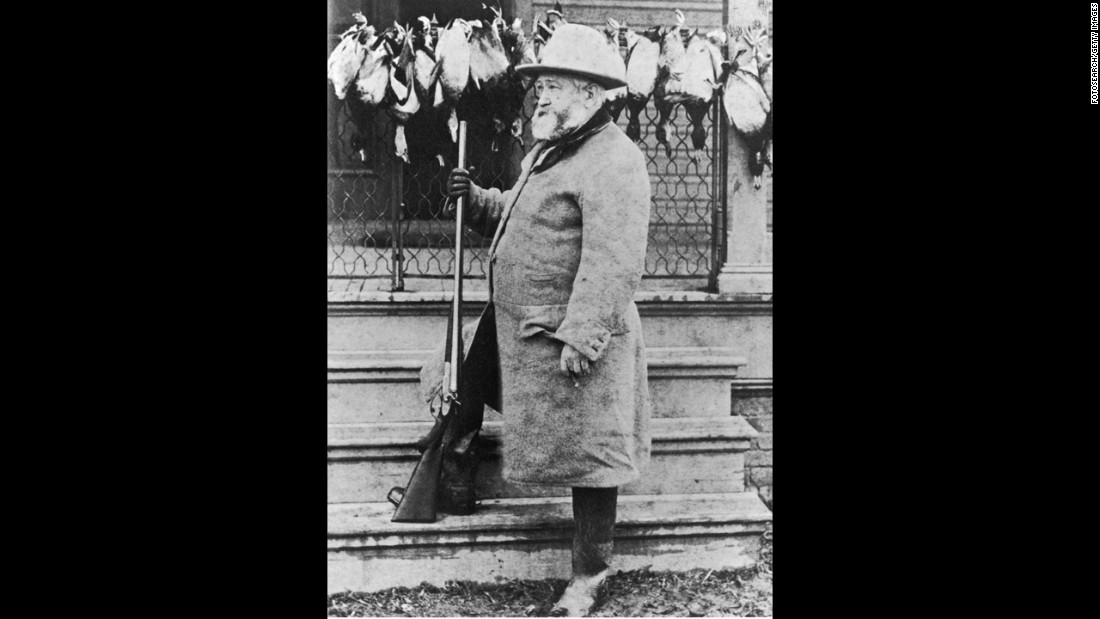 Benjamin Harrison, the23rd president (1889-1893)<br />