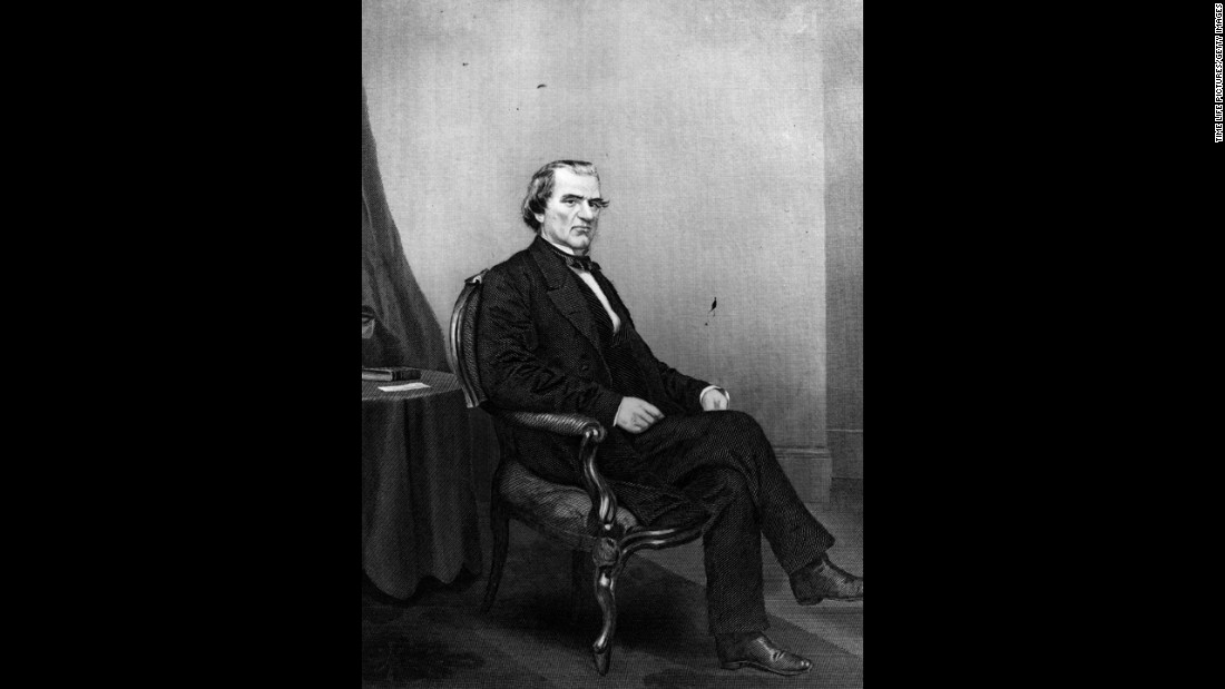 Andrew Johnson's (1865-1869) trial by impeachment in the U.S. Senate resulted in his acquittal by a single vote. History gives him a terrible performance review: His plan for post-war Reconstruction failed, and he had little support from Congress or the public.