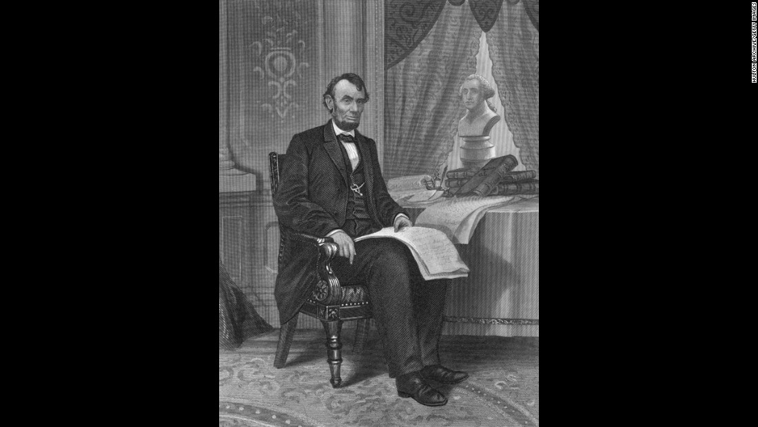 "<a href=""http://www.cnn.com/2015/06/18/us/gallery/tbt-abraham-lincoln-portraits/"">Abraham Lincoln</a>, the 16th president (1861-1865)"