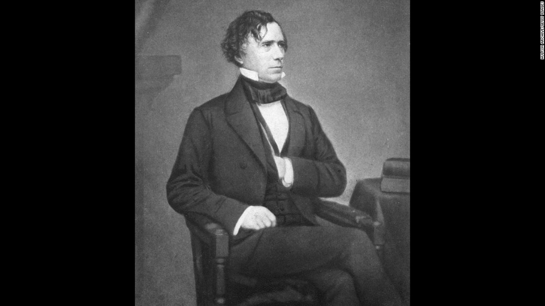 Franklin Pierce, the 14th president (1852-1857)