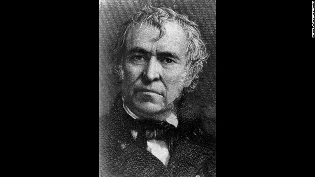 Zachary Taylor, the 12th president (1849-1850)