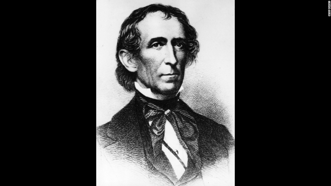 John Tyler, the 10th president (1841-1845)<br />