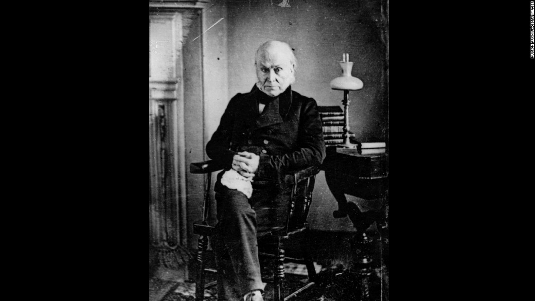 John Quincy Adams, the sixth president (1825-1829)<br />