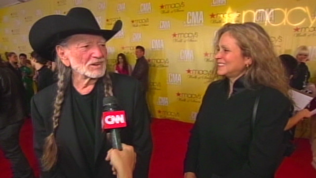 Voting? Wife sets Willie Nelson straight