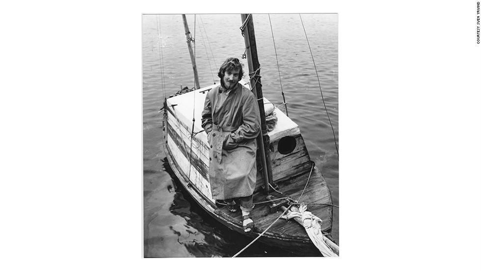He first lived on a boat as a 23-year-old studying mathematics in Copenhagen, during the 1960s.