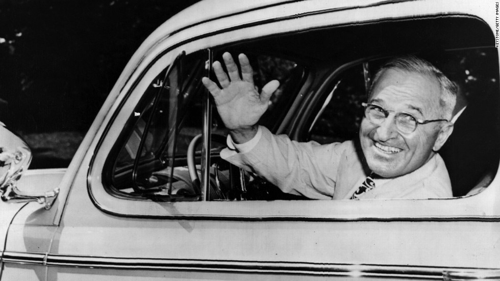 Harry S. Truman, the 33rd president (1945-1953) <br />