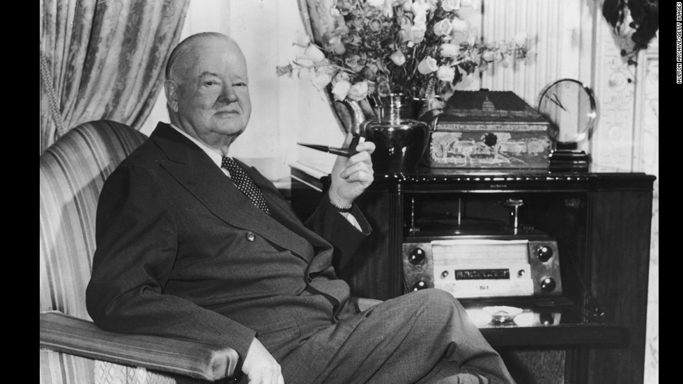 Herbert Hoover, the 31st president (1929-1933)<br />