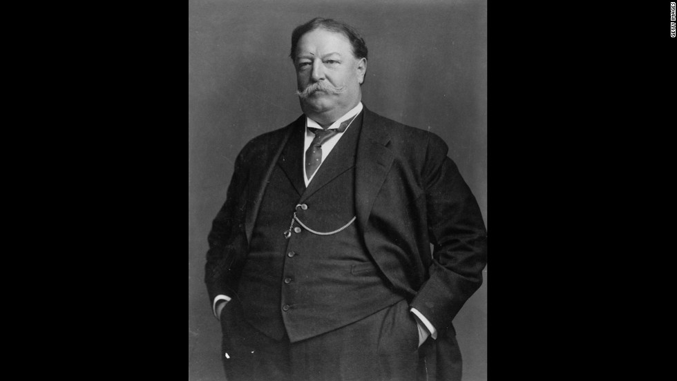 William Howard Taft, the 27th president (1909-1913)