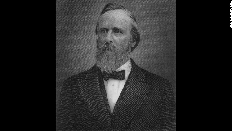 Rutherford B. Hayes, the 19th president (1877-1881)<br />