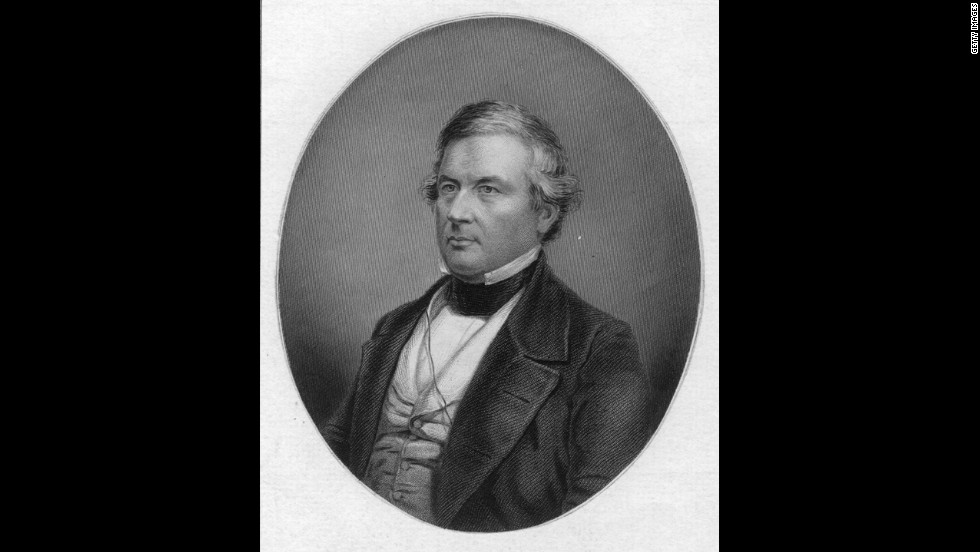 Millard Fillmore, the 13th president (1850-1853)