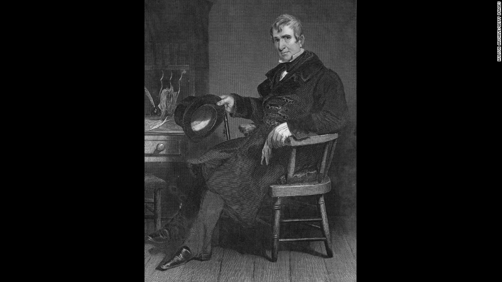 William Henry Harrison, the ninth president (March to April 1841) <br />