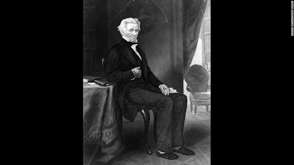 Andrew Jackson, the seventh president (1829-1837)<br />