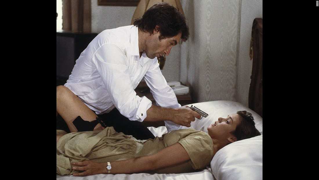 "Bond girl Pam Bouvier, played by Carey Lowell, works as a pilot and assists Bond in his mission in 1989's ""License to Kill."""