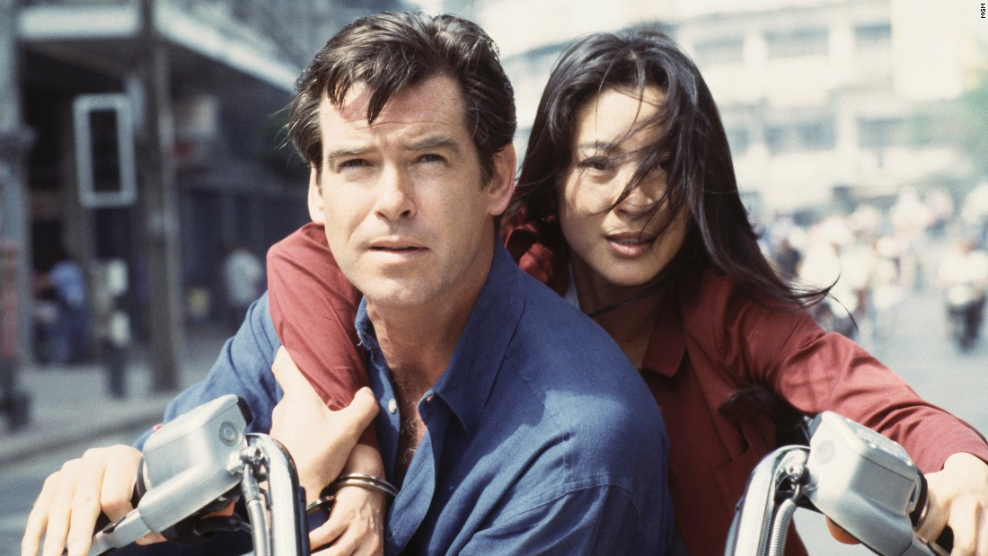 "Another Bond girl who claims to be immune to Bond's charm, Chinese agent Wai Lin, played by Michelle Yeoh, eventually falls for him in 1997's ""Tomorrow Never Dies."""