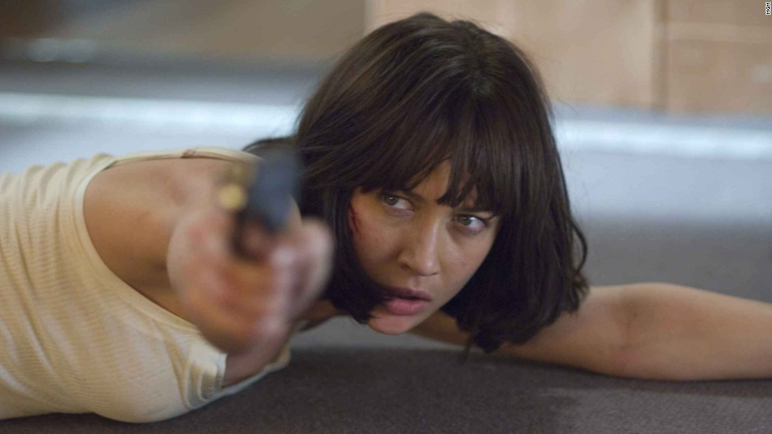 "Olga Kurylenko played Camille Montes in ""Quantum of Solace."" The former Bolivian agent is first seen in Bond's getaway car in the 2008 film."
