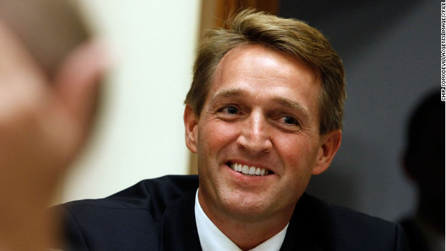 "Sen. Jeff Flake says allowing Americans to travel to Cuba is ""a way to show strength."""