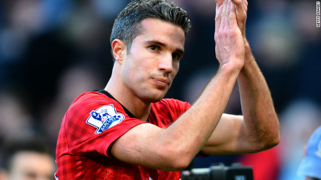 Robin van Persie starred against his former club Arsenal in Manchester United's 2-1 win at Old Trafford.