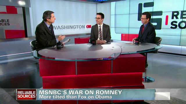 MSNBC's war on Romney