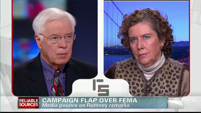Campaign flap over FEMA