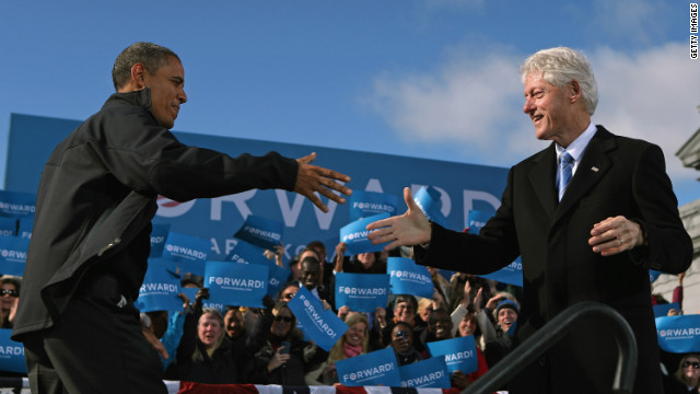 Obama on Clinton: I like him... in doses