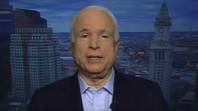 McCain: Slept 'like a baby' after defeat
