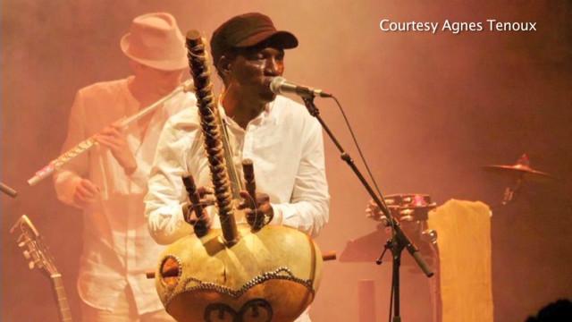 Multicultural Paris inspires musician