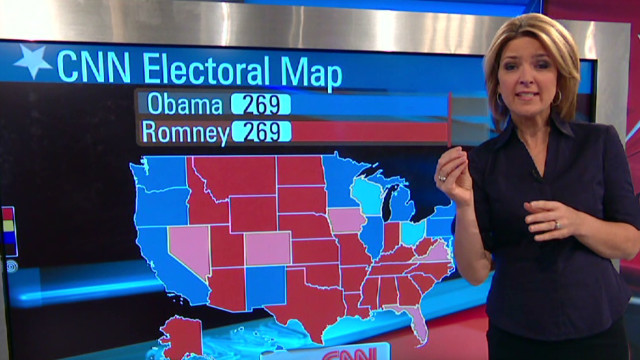Magic electoral vote number to win: 270