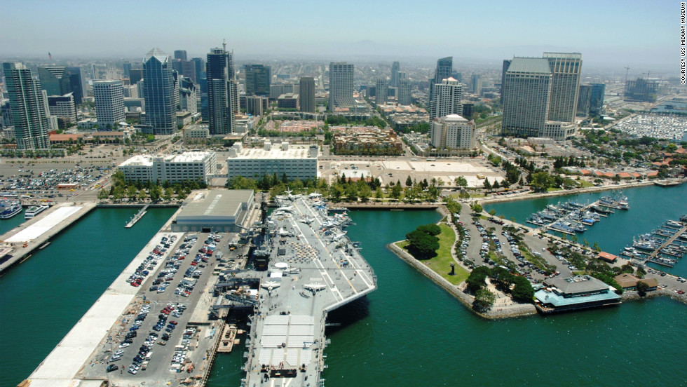 "The<a href=""http://www.midway.org/"" target=""_blank""> USS Midway </a>is the longest serving carrier of the 20th century -- logging 47 years before retiring in 1992. Some 225,000 sailors served aboard the Midway. Their average age was 19. It was the first carrier to sail into the Arctic during winter. In 1975 Midway set the bar for humanitarian missions with Operation Frequent Wind, part of the U.S response to the fall of South Vietnam and the resulting rush of refugees. When it was all said and done, the Midway was credited for saving some 3,000 refugees, who would otherwise have been left behind."