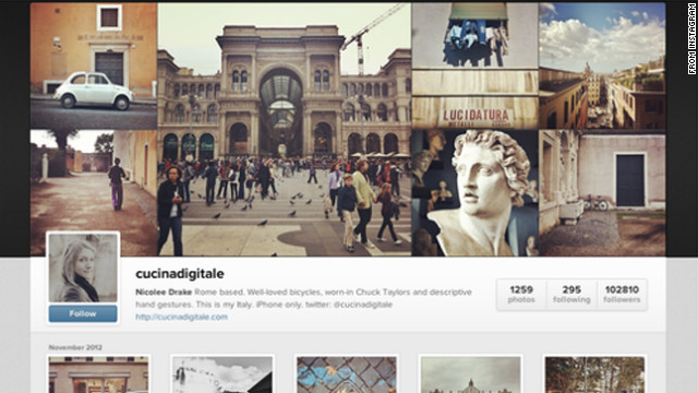 Instagram created Web-based user profiles last month, helping pave the way to take images off Twitter.