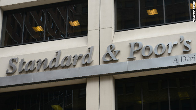 Standard & Poor's rating agency in New York, September 18, 2012